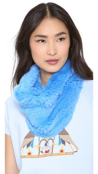 Adrienne Landau Bryan Boy for Adrienne Landau Fur Cowl