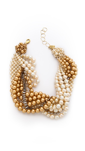 AERIN Erickson Beamon Twisted Necklace