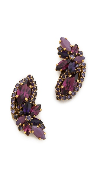 AERIN Erickson Beamon Stone Earrings