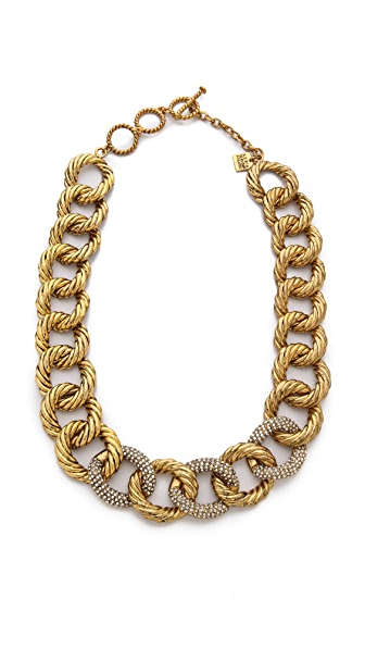 AERIN Erickson Beamon Chain Link Necklace