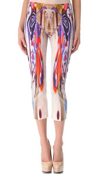 Alberta Ferretti Collection Printed Pants