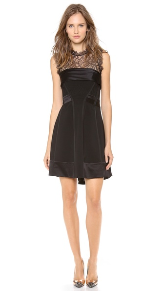 Alberta Ferretti Collection Sleeveless Corset Dress