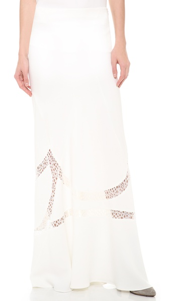 Alberta Ferretti Collection Maxi Skirt - White at Shopbop / East Dane