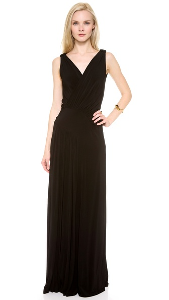 Alberta Ferretti Collection Sleeveless Gown