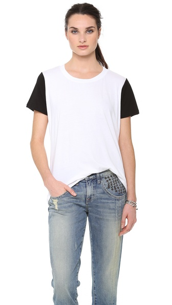 A Fine Line Andie Color Block Tee