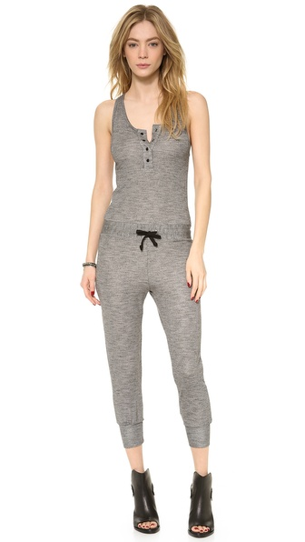 A Fine Line Memory Lane Jumpsuit - Anthracite at Shopbop / East Dane