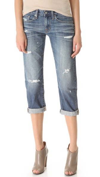 AG Adriano Goldschmied Ex Boyfriend Crop Jeans