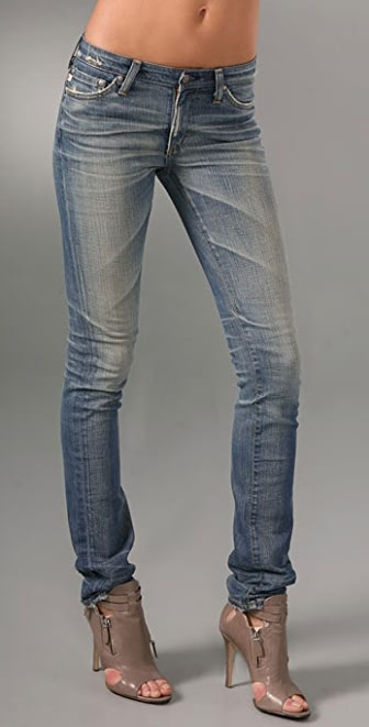 AG Adriano Goldschmied Premiere Straight Skinny Jeans