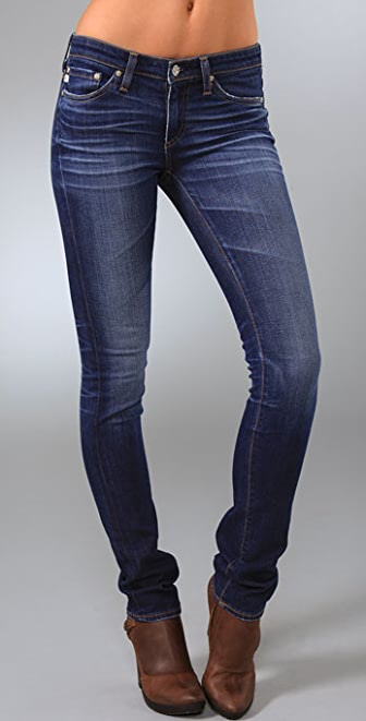 AG Premiere Skinny Straight Jeans