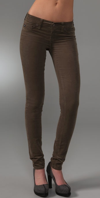 AG Adriano Goldschmied Super Skinny Corduroy Jeggings