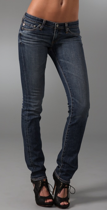 AG Adriano Goldschmied Charlotte Straight Leg Jeans
