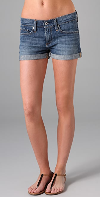 AG The Pixie Roll Up Shorts