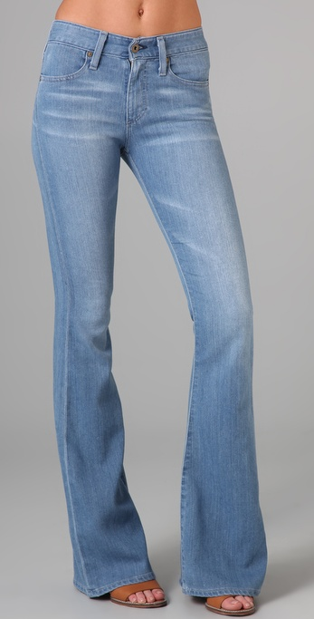 AG Adriano Goldschmied The Farrah '70s Bell Bottom Jeans