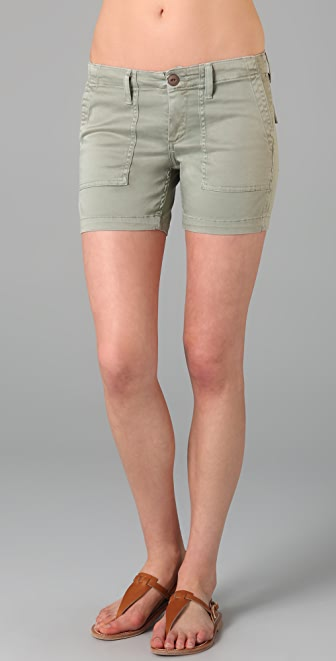 AG Adriano Goldschmied The A.C.U. Patch Pocket Shorts