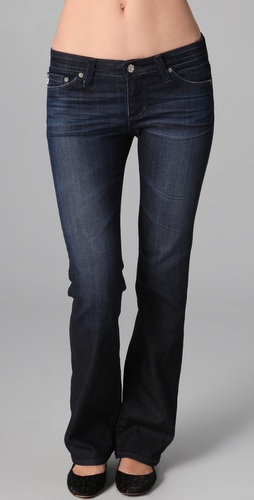 AG Adriano Goldschmied The Angelina Petite Boot Cut Jeans
