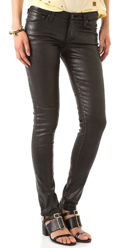 AG Adriano Goldschmied The Leatherette Legging Jeans