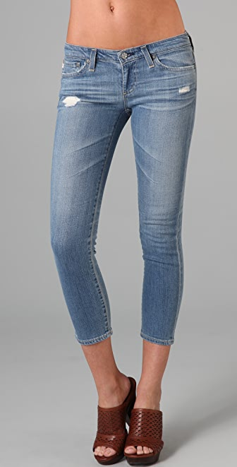 AG Adriano Goldschmied The Stilt Cropped Cigarette Jeans