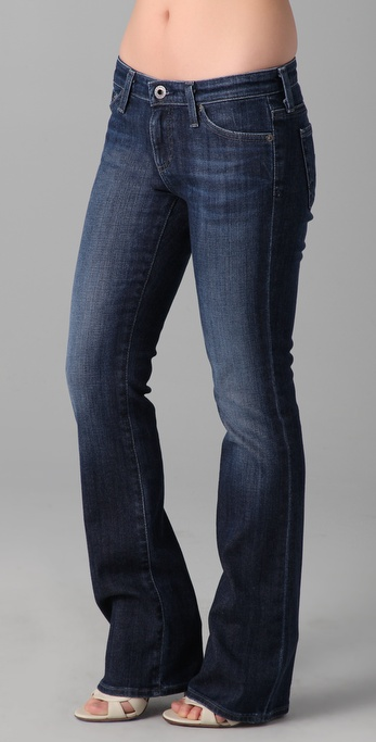 AG Adriano Goldschmied Angelina Petite Boot Cut Jeans
