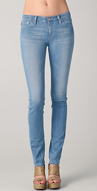 AG Adriano Goldschmied Premiere Skinny Straight Leg Jeans