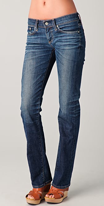 AG Tomboy Relaxed Straight Leg Jeans
