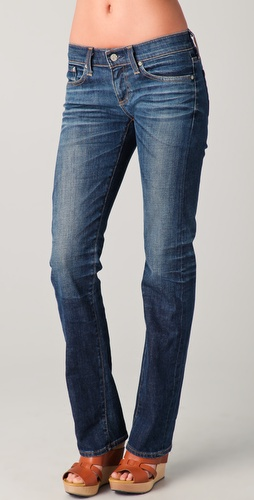 AG Adriano Goldschmied Tomboy Relaxed Straight Leg Jeans