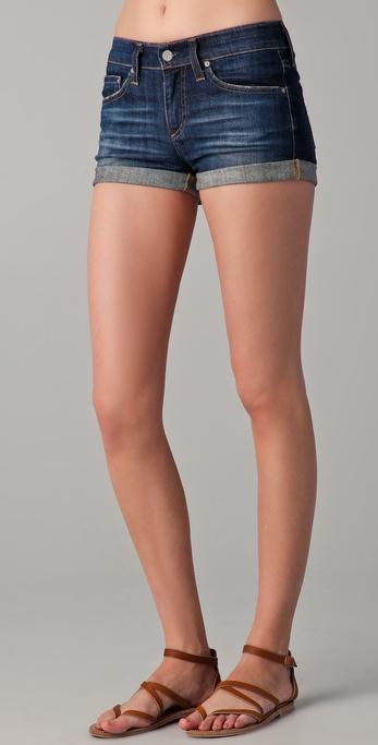 AG Adriano Goldschmied Pixie Denim Shorts