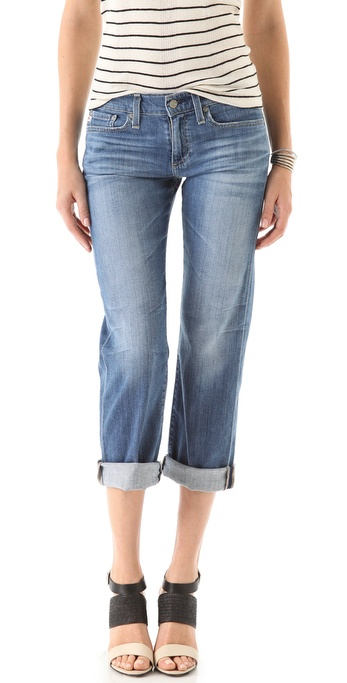 AG Adriano Goldschmied Camden Wide Leg Ankle Jeans