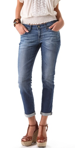 AG Adriano Goldschmied Stilt Cigarette Roll Up Jeans