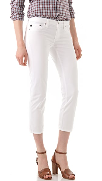 AG Stilt Cigarette Crop Jeans