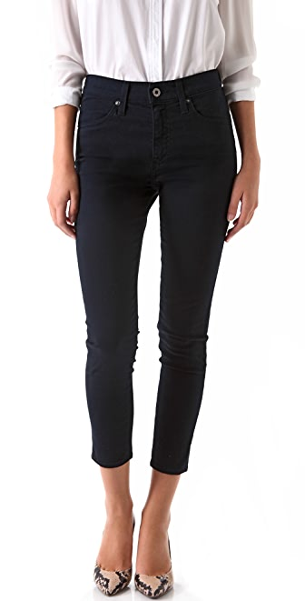 AG Adriano Goldschmied Farrah Cropped High Rise Skinny Pants