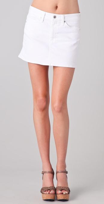 AG Adriano Goldschmied A Line Miniskirt