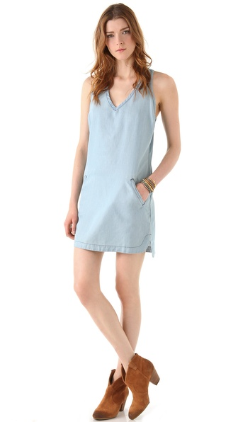 AG Adriano Goldschmied Denim Tank Dress