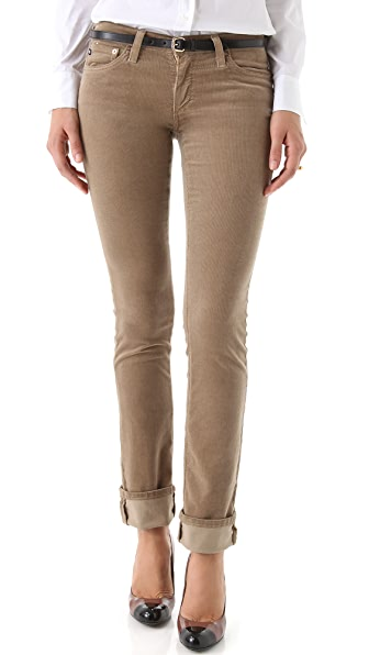 AG Adriano Goldschmied Ballad Slim Boot Cut Corduroy Pants