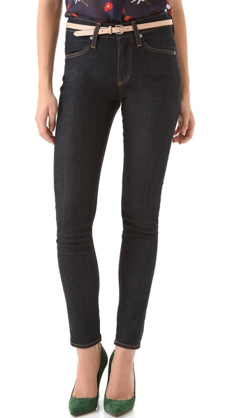 AG Adriano Goldschmied Farrah High Rise Skinny Jeans