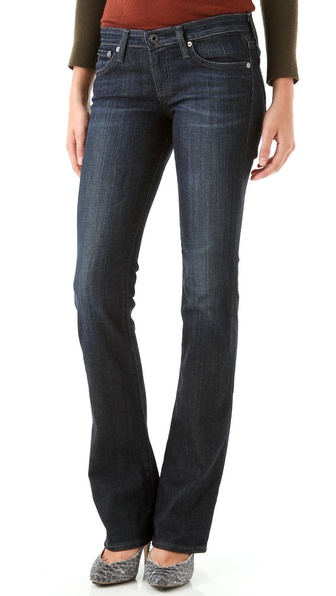 AG Adriano Goldschmied Olivia Skinny Boot Cut Jeans