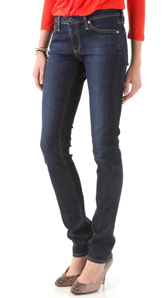 AG Adriano Goldschmied Premiere Skinny Straight Jeans
