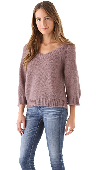 AG Adriano Goldschmied Button Back Sweater