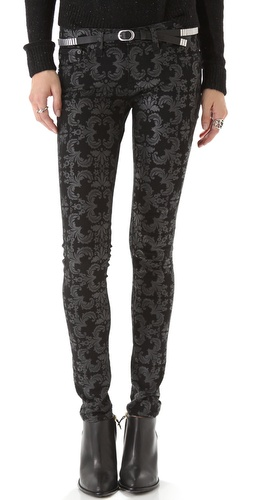 AG Adriano Goldschmied Super Skinny Coated Legging Jeans