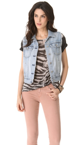 AG Adriano Goldschmied Heather Easy Denim Vest