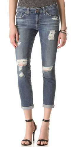 AG Adriano Goldschmied Stilt Roll Up Jeans