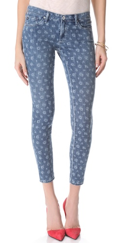 AG Adriano Goldschmied Liberty for AG The Legging Ankle Super Skinny Jeans