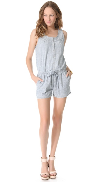 AG Adriano Goldschmied Liberty for AG The Emma Sleeveless Romper
