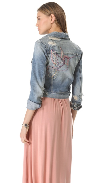 AG Adriano Goldschmied Cher Coulter for AG '50s Denim Jacket