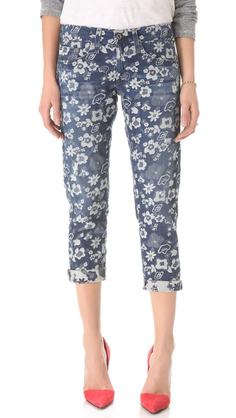AG Adriano Goldschmied Cher Coulter for AG The Piper Cropped Jeans