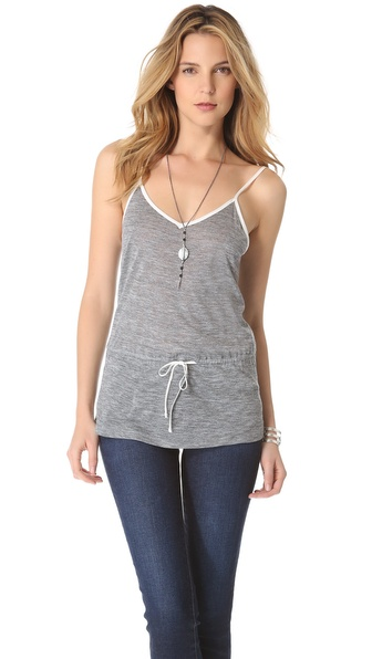 AG Adriano Goldschmied Drawstring Camisole