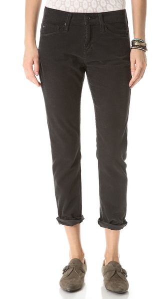 AG Adriano Goldschmied The Beau Slouchy Skinny Corduroy Pants