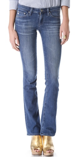 AG Adriano Goldschmied The Olivia Skinny Boot Cut Jeans