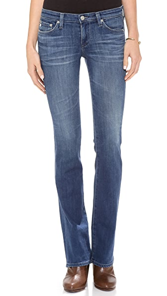 AG The Olivia Skinny Boot Cut Jeans