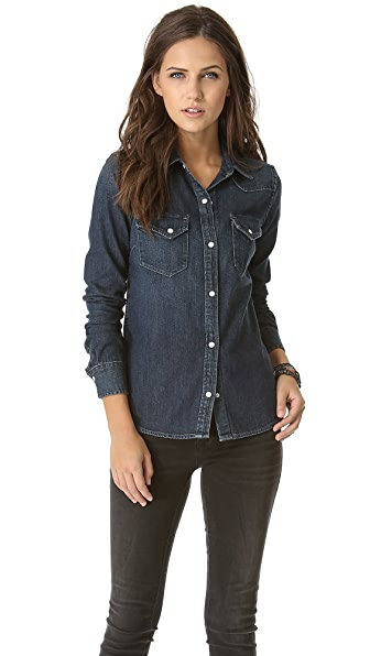 AG The Alice Western Snap Shirt