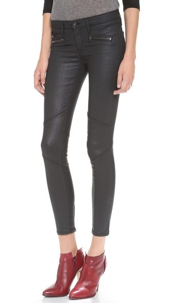 AG Adriano Goldschmied The Moto Zipper Legging Jeans